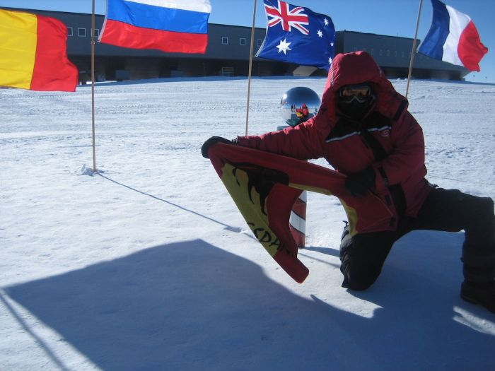 Jose Antonio at the South Pole