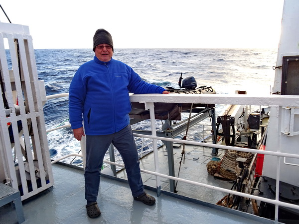 In the Southern Ocean before Macquarie Island