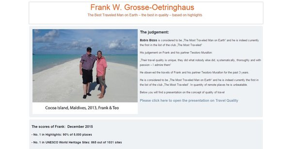 Franks website